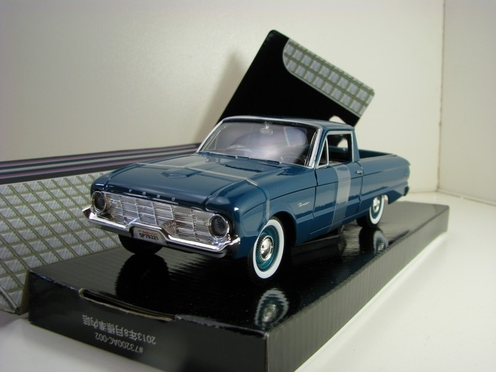 Ford Ranchero 1960 Pick Up Green 1:24 Motor Max